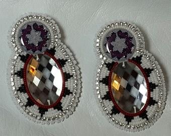 Native American Made Beaded Earrings
