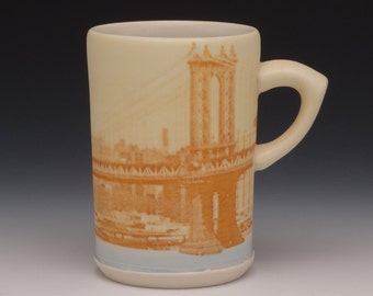 Manhattan Bridge Mug
