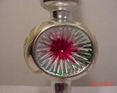 Vintage Plastic Indent Christmas Tree Topper   16 - 299