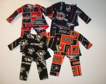 "Elf clothes (12"") - Hockey pj's for Elf"