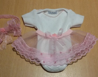 Sweet tutu set for approx. 10-11 inch baby