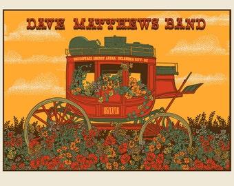 DMB OKC Stagecoach Screen print