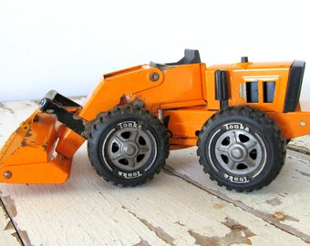 Vintage Orange Tonka Loader