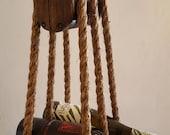 Nautical Hanging Wine Rack