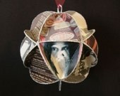 Neil Young Album Cover Ornament Made Of Record Jackets