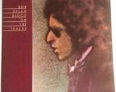 BOB DYLAN Blood On The Tracks lp 1974 Vinyl Record Album