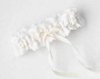 Lace Garter, Lace Wedding Garter, Lace Bridal Garter, Lace Wedding, Garter, Wedding Garter, Bridal Garter - Delicate Garter by Garter Girl