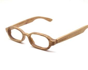 Defective  olive wood  MJX1604 handmade prescription sunglasses eyeglasses