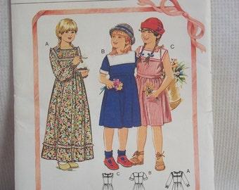 "Vintage ""Holly Hobby"" Wear by Burda Patterns 8939"