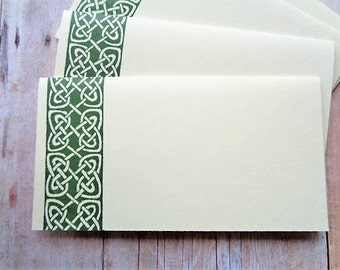 Celtic Place Cards Irish Wedding Escort Cards Celtic Knot Seating Name Card