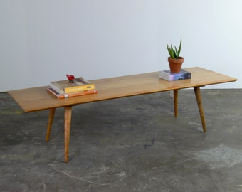 Mid Century Modern Paul McCobb Planner Group Coffee Table // Bench for Winchendon