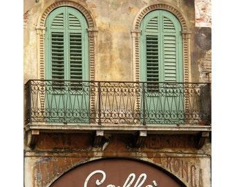 "Fine Art Color Photography of Verona Italy - ""Veronese Cafe"""