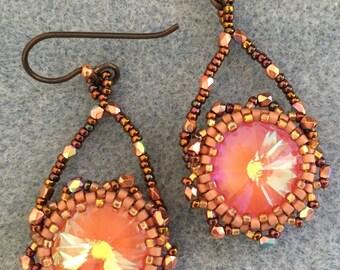 PATTERN Rivoli 14mm earrings