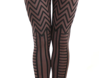 Chevron Legging