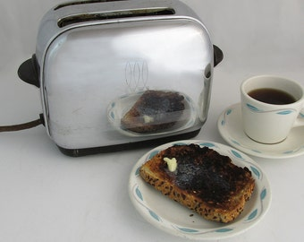 "1940s Toastmaster 1B9 Toaster ""Pre-War Appliance Perfection"""