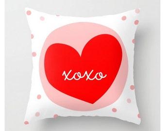 XOXO HEART #Pillow
