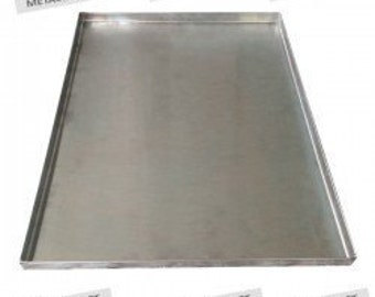 """Dog Crate Pan Tray~Stainless Steel or Galvanized Metal~42"""" Crate~ Waranty Against Breakage."""