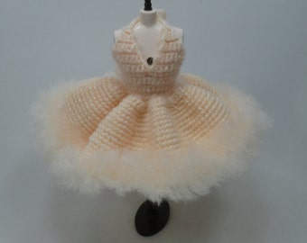 Handcrafted crochet knitting dress outfit clothes for Blythe doll # 200-60