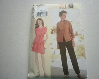 Pattern Women Top Shorts Pants Vogue 7281