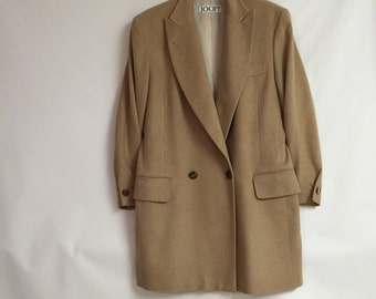 Cashmere Blazer Jacket/Joop Camel Colored Blazer/Jacket Cashmere c.1990 By Gatormom13