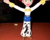 vintage PVC Walt Disney Pixar Toy story 2 Jessie cowgirl  figure