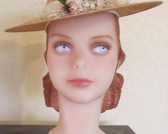 DECO EYES DECOEYES Lola- Red Headed Young Girl Mannequin Head -Jerry Landwerlen