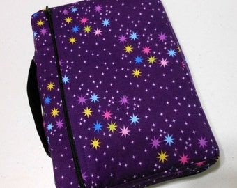 Bible Cover Stars on Amethyst Background