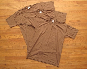 mens vintage Army issue t shirts