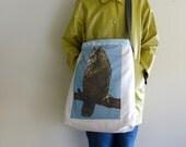 Handmade Cotton Sling Bag (upcycled)