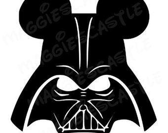 VINYL Decal - DIY Iron On - Star Wars Darth Vader