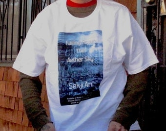 Falling Down the Aether Sky book teeshirt