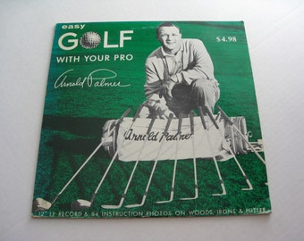 Arnold Palmer Easy Golf With Your Pro Record  Private Label Golf  LP  Vinyl