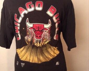 SALE Vintage Chicago Bulls Starter Tshirt