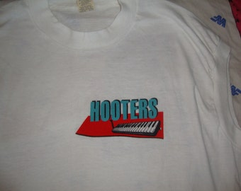 Vintage 80's The Hooters New Wave Sleeveless Concert Tour T shirt L