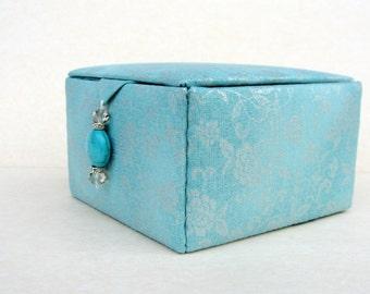 Handmade decorative box, jewelry organizer box, keepsake box, trinket box