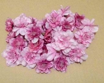 SALE - Lot of 30  Blossom - Pink - Dark - less than half price