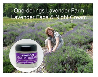 Lavender Cream- very gentle, relaxing and renewing for face and throatr-