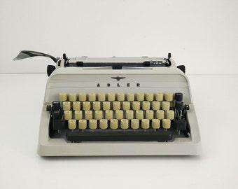 Adler J2 Typewriter / 1970s Working Portable West Germany