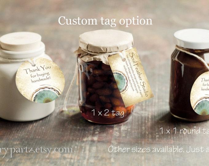 VINTAGE EARTH Series 1•Custom Tags•Labels•Earring Display•Clothing Tags•Custom Hang Tags•Boutique Card•Tags•Custom Tags•Custom Labels