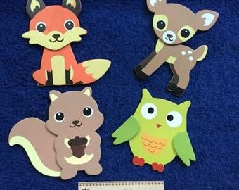 Nightlight Woodland Animals Forest Creatures Baby Neutral Gender Boys Girls Nursery Children Toddler Kids Night lights