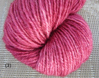 "Pygora Yarn ""Sweet Ice"": Raspberry Ice"