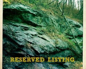 reserved listing for Allie