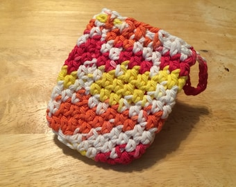 100 percent cotton soap saver sack READY TO SHIP