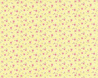 Bespoke Blooms - Tiny Flowers in Sunshine by Brenda Riddle for Moda Fabrics