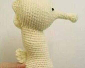 Seahorse Plush, Seahorse Stuffed Animal, Seahorse Toy, Seahorse Doll, Seahorse Stuffie