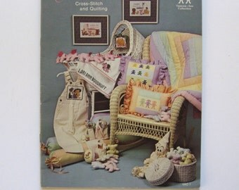 Sugar Plum Fairy. Cross Stitch and Quilting book Vanessa-Ann Collection 1981. 46 projects. plush, quilts, toys, x stitch, more.