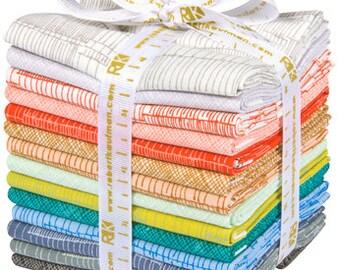 Carkai Coordinates Fat Quarter Bundle- Carolyn Friedlander