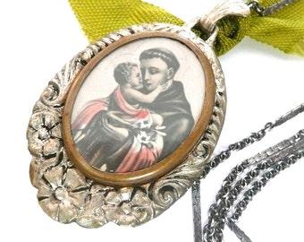Saint Anthony Necklace
