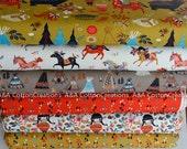 Bundle of 6-Gots ORGANIC Interlock Knit Fabric,Birch fabric, Wildland Knit collection any cut