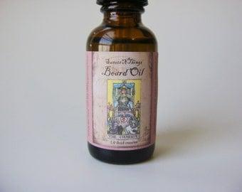 Beard Oil Conditioning Oil for Face and Beard, Gunslinger Deep Dark Woods Men's Face Oil